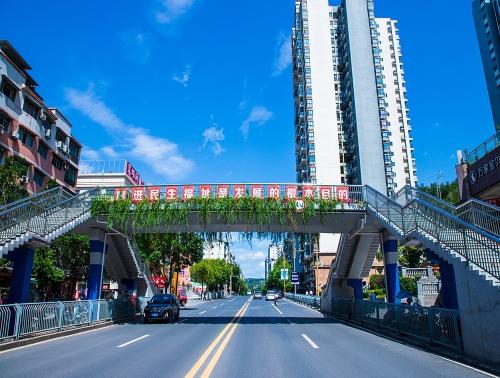 城南路广场支路人行天桥